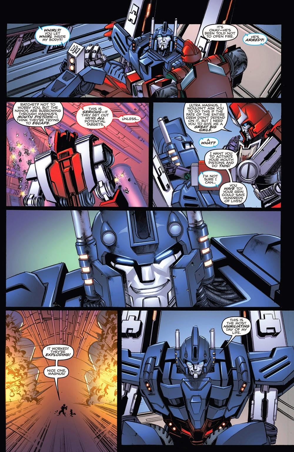 The Transformers – More Than Meets the Eye Annual 2012