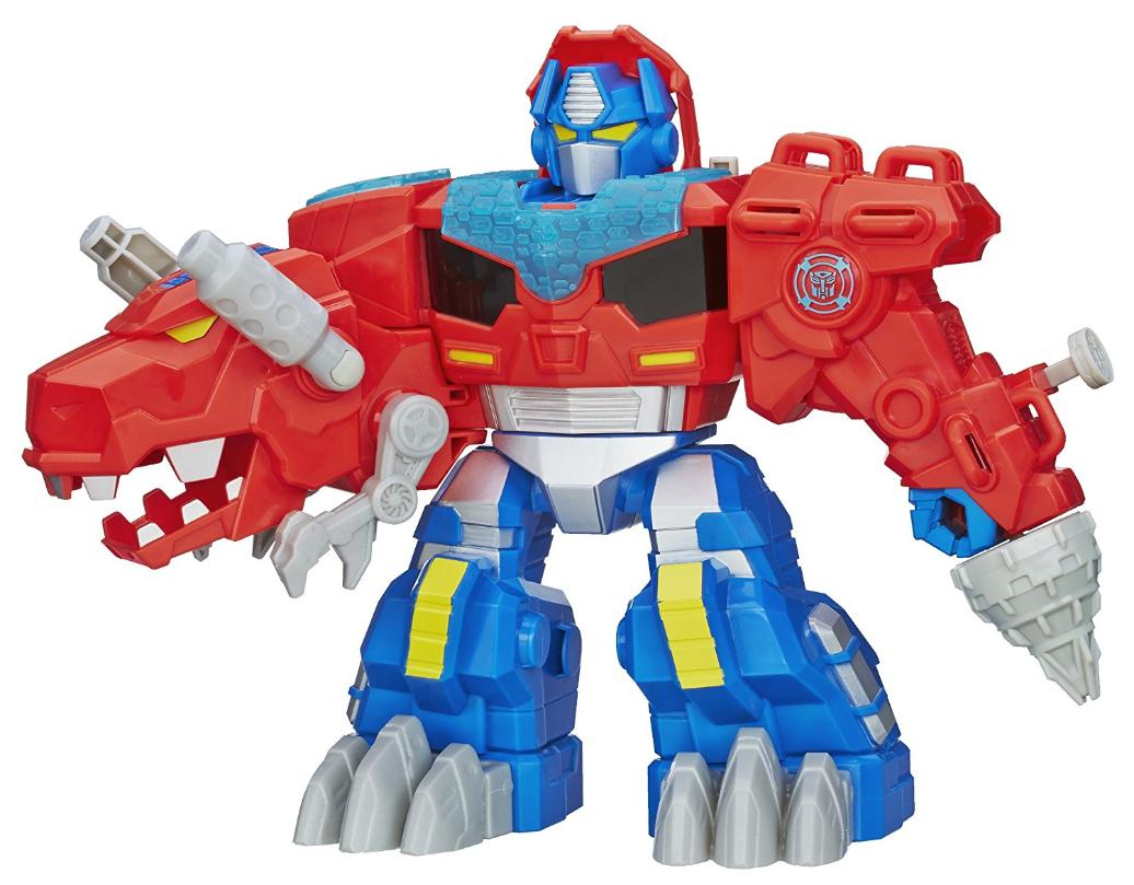 Hasbro Transformers Playskool Heroes Optimus Prime Rescue Bots Action Figure
