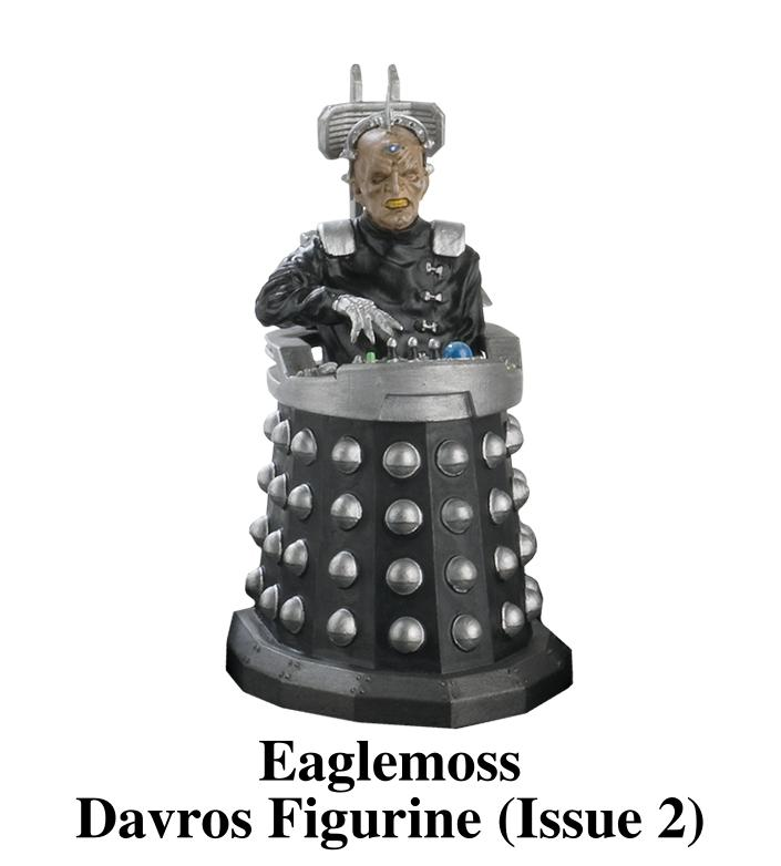 Eaglemoss Davros Figurine (Issue 2)
