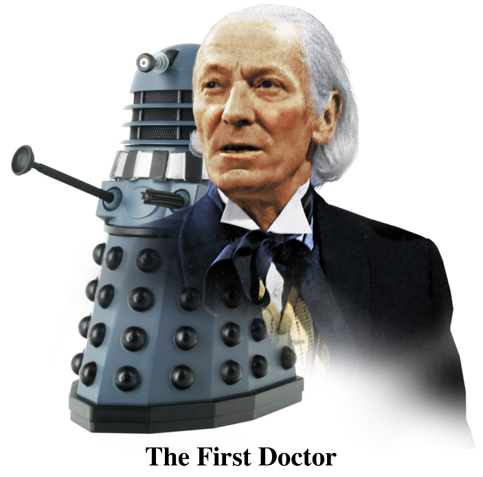 The First Doctor & Dalek