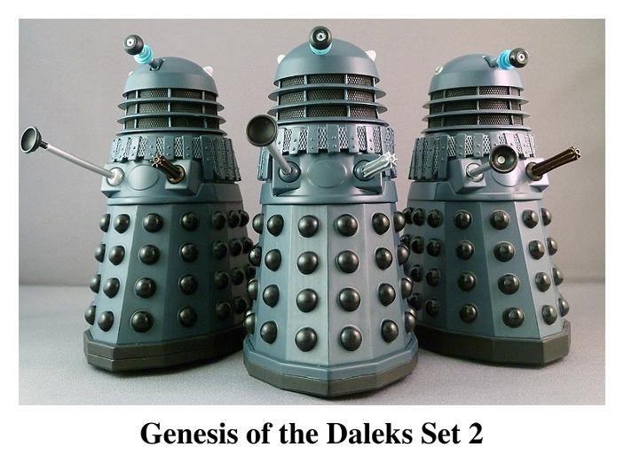 Genesis of the Daleks Set 2