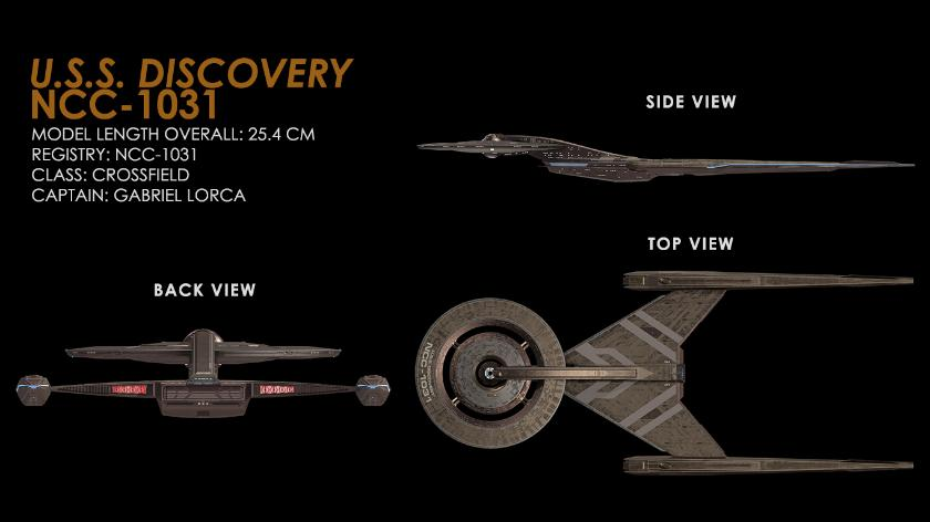 Eaglemoss Star Trek Discovery Collection
